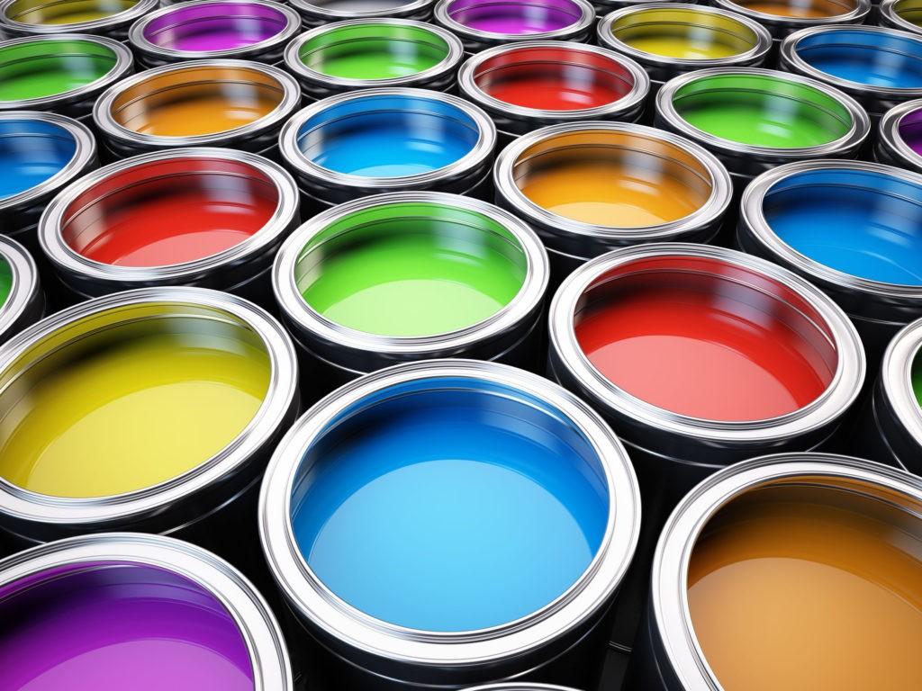 colori di vernice